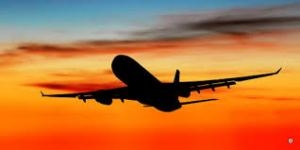 jet plane silohoutte