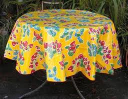 oilcloth table cloth